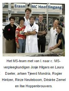 Het MS-team