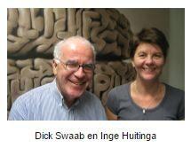 Dick swaab en Inge Huiting