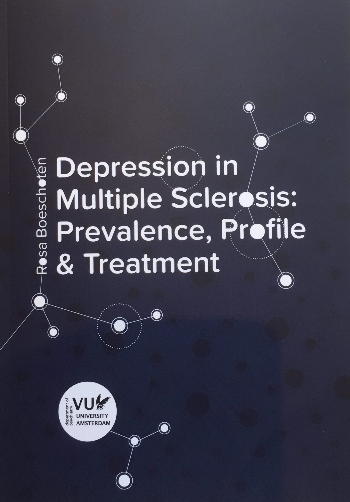 Cover Depression In Multiple Sclerosis Rosa Boeschoten