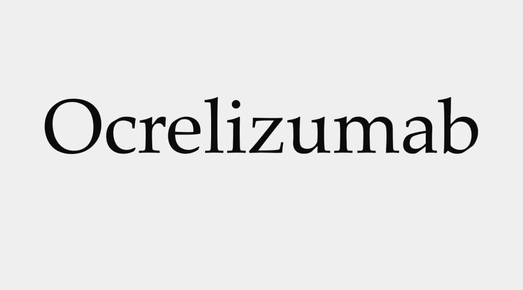 Ocrelizumab, het eerste middel voor mensen met PP MS