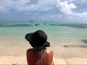 Caribbean strand