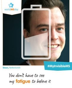 Wereld MS dag #MyInvisibleMS
