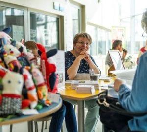 Yvonne Soede, actief lid van de MS vereniging Nederland afdeling Brabant Zuid Oost,