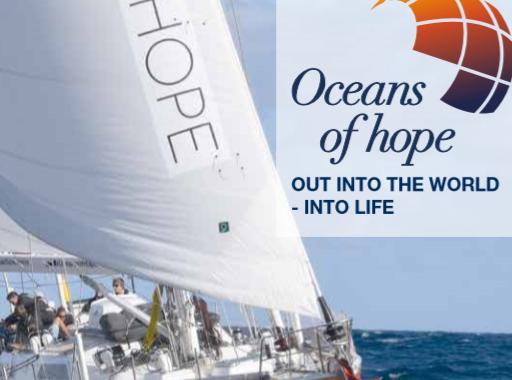 """""""Oceans Of Hope"""", De Naam Van Het Schip Dat Rond De Wereld Zeilt Met Een Bemanning Van Mensen Met MS"""