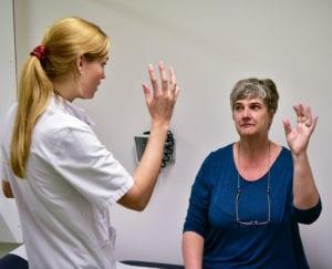 In het kader van project Y worden patiënten in het VU Medisch Centrum onderzocht. Alleen voor redactioneel gebruik. Foto: Martin de Bouter   Hollandse Hoogte